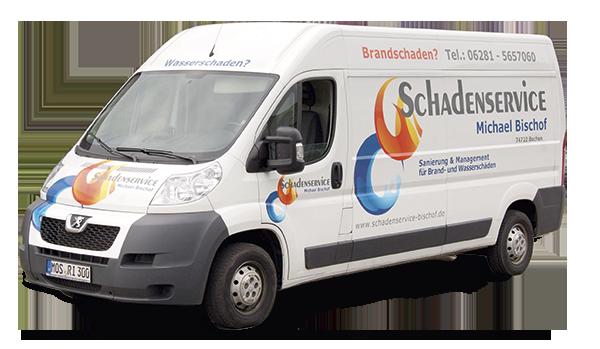Schadenservice-bischof-Transporter